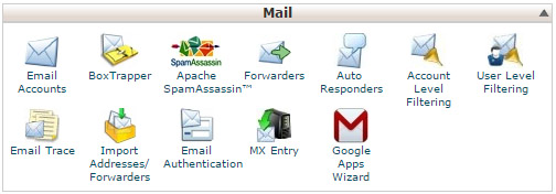 Configuring email in cPanel